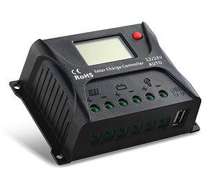 Контроллер SRNE SR-HP2410 10A, 12V/24V (модификации 20,30,40,50,60 А)
